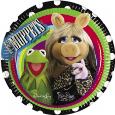 8 The Muppets Theme Paper Party Plates